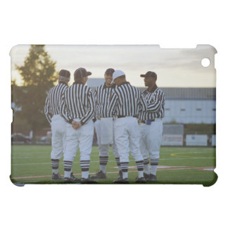 American football referees talking in field iPad mini covers