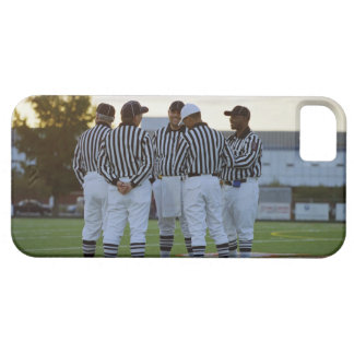 American football referees talking in field iPhone 5 cover