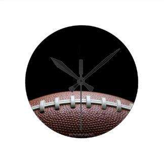 American Football Round Clock