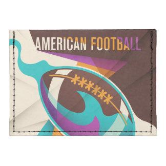American Football Sport Ball Abstract Tyvek® Card Wallet