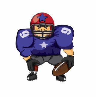 American Football Star Acrylic Cut Out