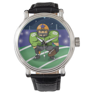 American Football Star Player Watches