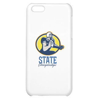 American Football State Championships Retro iPhone 5C Cases