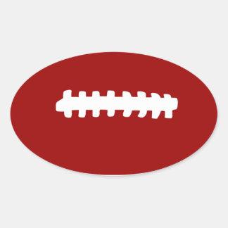 American Football Oval Sticker