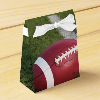 American Football tent Wedding Favour Boxes