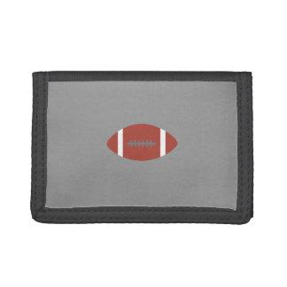 American Football Tri-fold Wallet