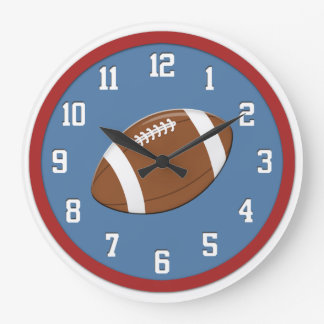 American Football Wall Clock