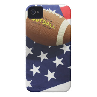American football with the US flag iPhone 4 Covers