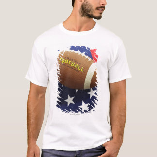 American football with the US flag T-Shirt