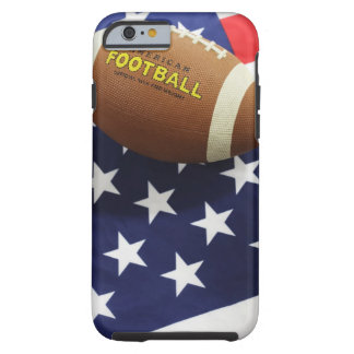 American football with the US flag Tough iPhone 6 Case