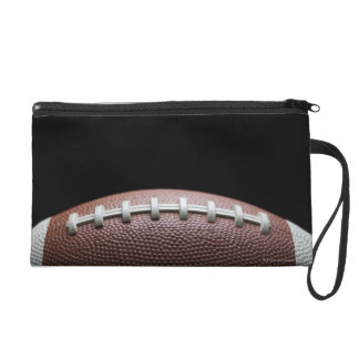 American Football Wristlet Clutches