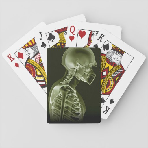 American Football Xray cards Poker Deck