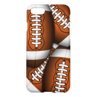 American Footballs Pattern Cool Football Zazzle iPhone 8/7 Case