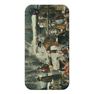 American Forest Scene - Maple Sugaring, 1856 Covers For iPhone 4
