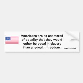 American Freedom Statement Bumper Stickers