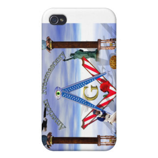 American Freemasonry iPad/iPhone/iPod Cases Cases For iPhone 4