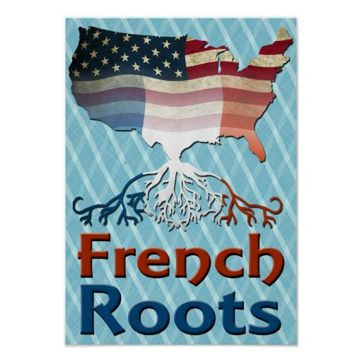 American French Roots Posters