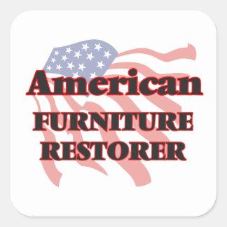 American Furniture Restorer Square Sticker