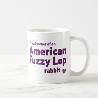 American Fuzzy Lop rabbit Coffee Mugs