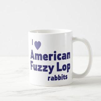 American Fuzzy Lop rabbits Basic White Mug