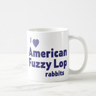 American Fuzzy Lop rabbits Coffee Mugs
