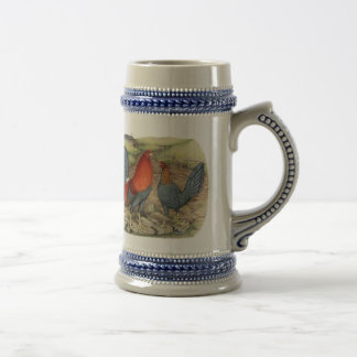 American Game Blue Reds Beer Steins