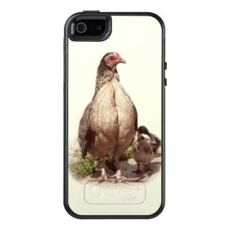 American Game Hen and Baby Chickens OtterBox iPhone 5/5s/SE Case