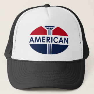 American Gas Station sign. Flat version Trucker Hat
