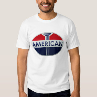 American Gas Station vintage sign crystal version T-shirt