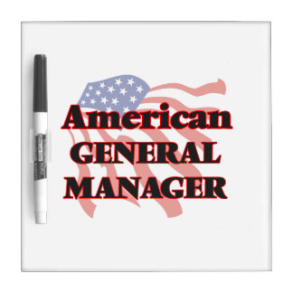 American General Manager Dry Erase Boards