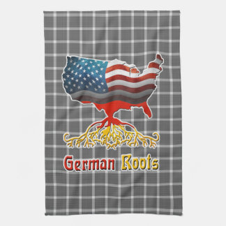 American German Roots Kitchen Towel