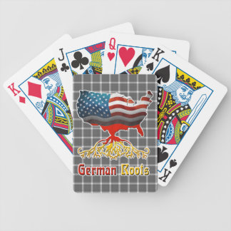 American German Roots Playing Cards
