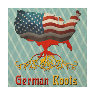 American German Roots Wood Canvases