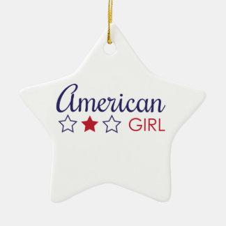 American Girl Stars Christmas Ornament