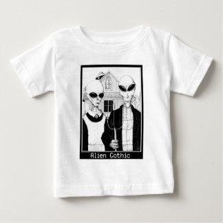 American Gothic, Alien Portraits, Aliens Baby T-Shirt