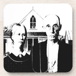 American Gothic Drink Coasters