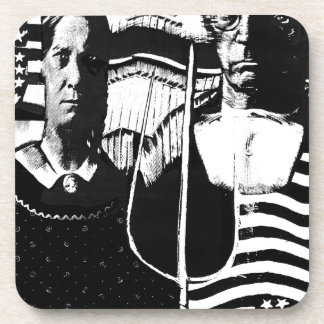 American Gothic Drink Coaster
