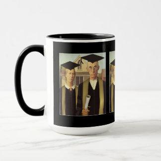 American Gothic Graduation Mug