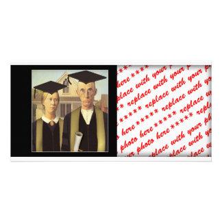 American Gothic Graduation Photo Cards