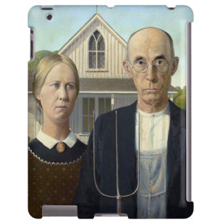 American Gothic iPad Case