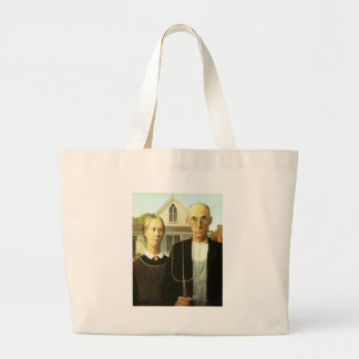 American Gothic Large Tote Bag