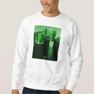 American Gothic Matrix OMG GMO! Sweatshirt
