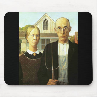 American Gothic Mouse Pad