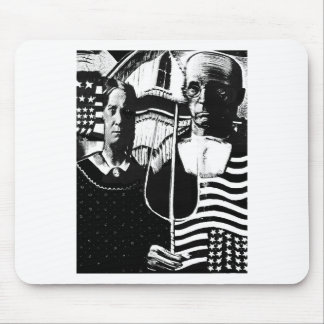 American Gothic. Mouse Pad