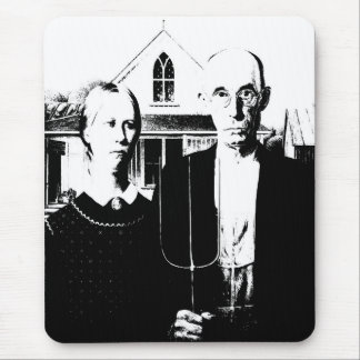 American Gothic Mousepad