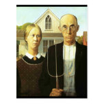 American Gothic Post Card