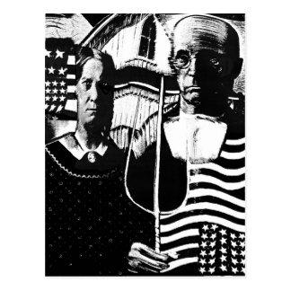 American Gothic. Postcard