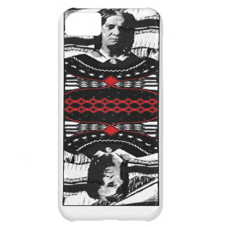 American Gothic Queen of diamonds iPhone 5C Cover