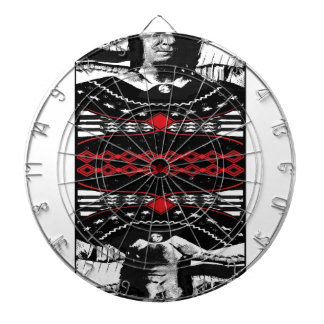 American Gothic Queen of diamonds Dartboard With Darts