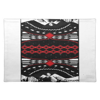 American Gothic Queen of diamonds Placemats